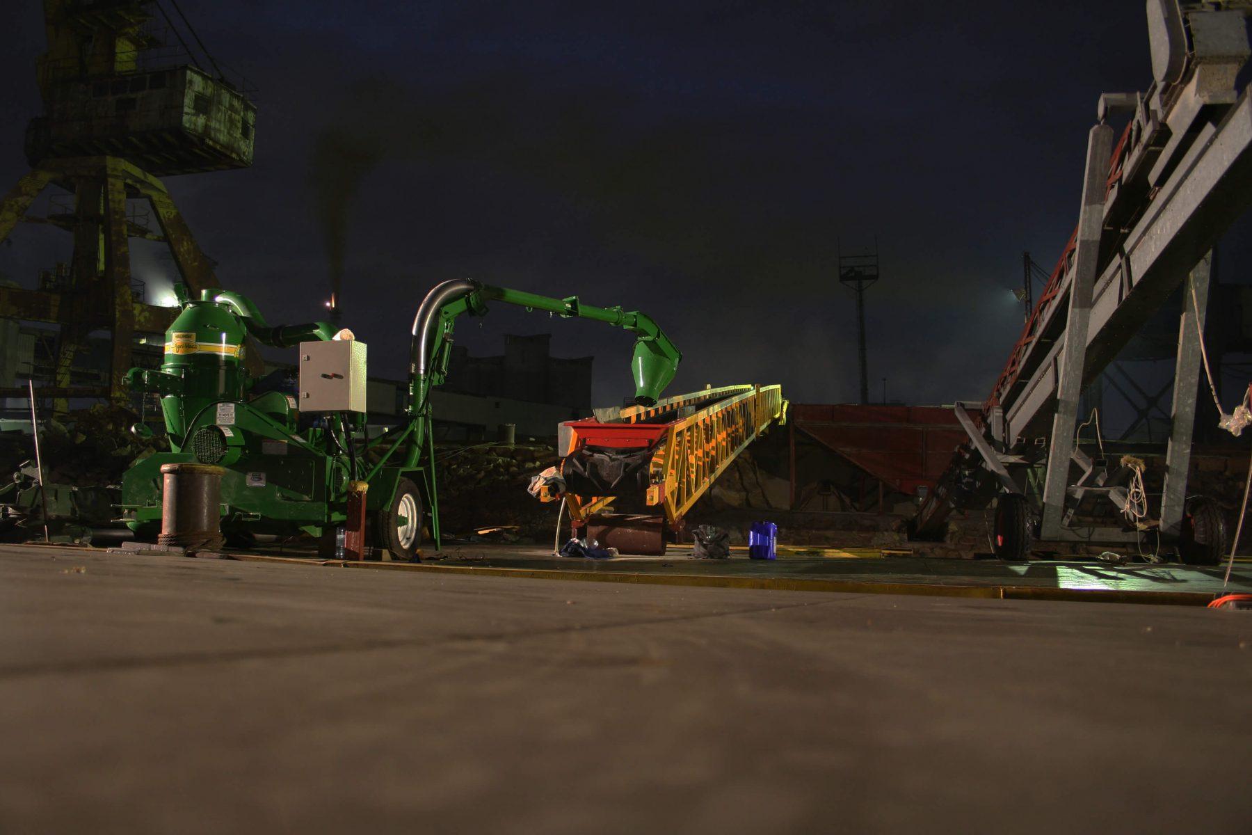 Benzi transportoare fixe - Transportor pneumatic