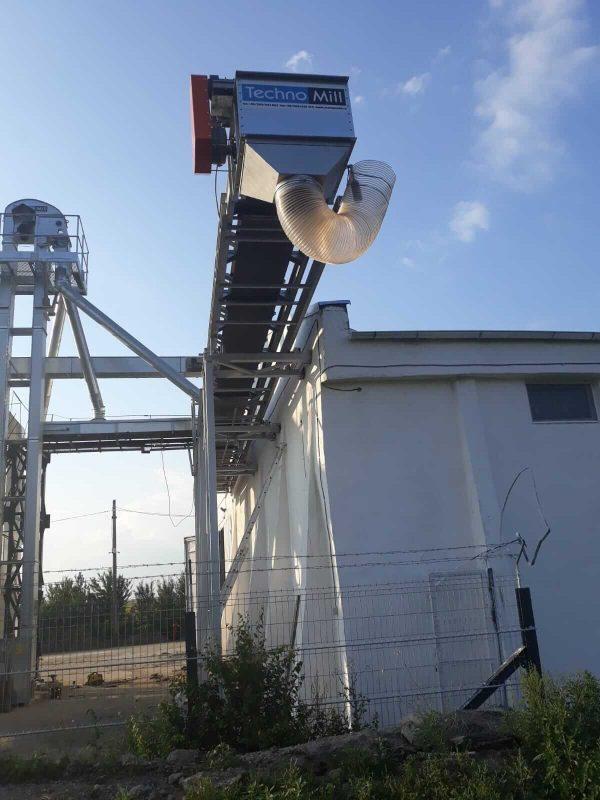 banda transportoare telescopica vp cereale 2