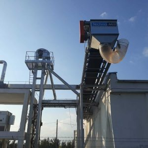 banda transportoare telescopica vp cereale 3