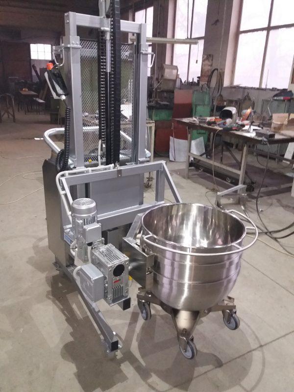 Rasturnator cuva malaxor-mixer 2