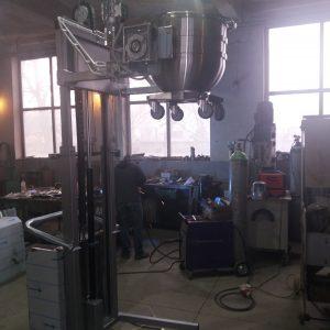 Rasturnator cuva malaxor-mixer 5