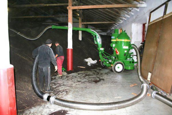Transportor pneumatic cereale 7614 PTO
