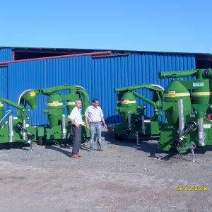Transportor pneumatic cereale walinga