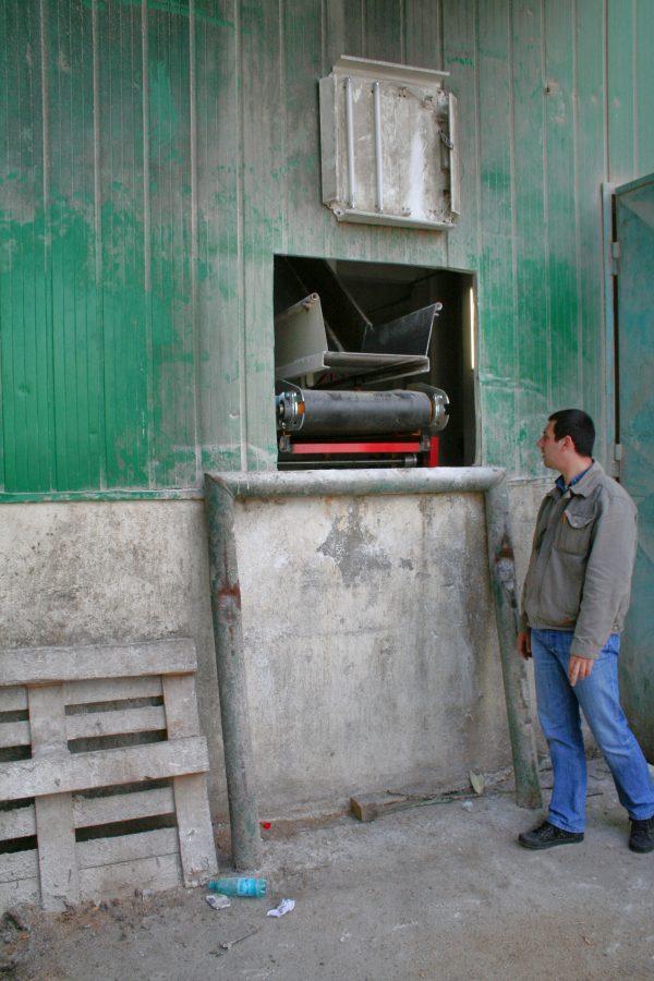 banda transportoare incarcarea sac 4